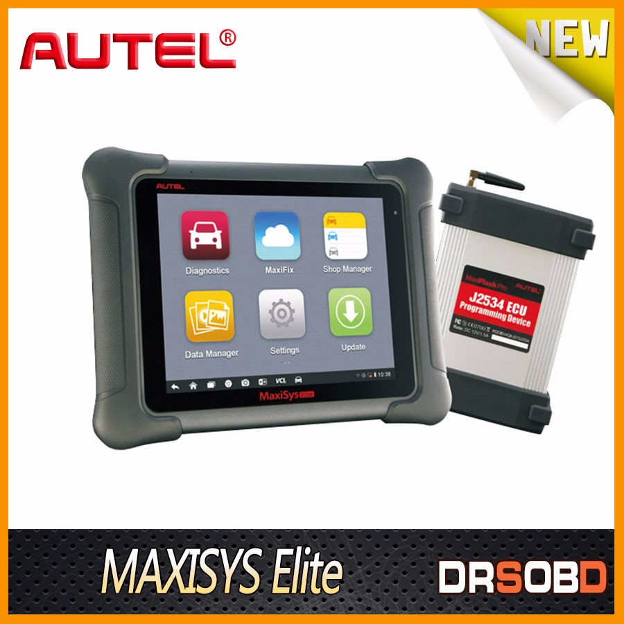 New Arrival AUTEL Maxisys Elite Support J2534 ECU Preprogramming Update From MS908P Free Update