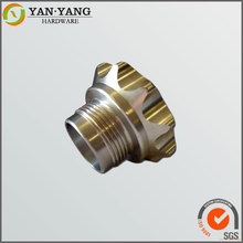 Alibaba China high precision CNC turning part electronic connector
