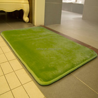 anti-slip thin memory foam bath mat