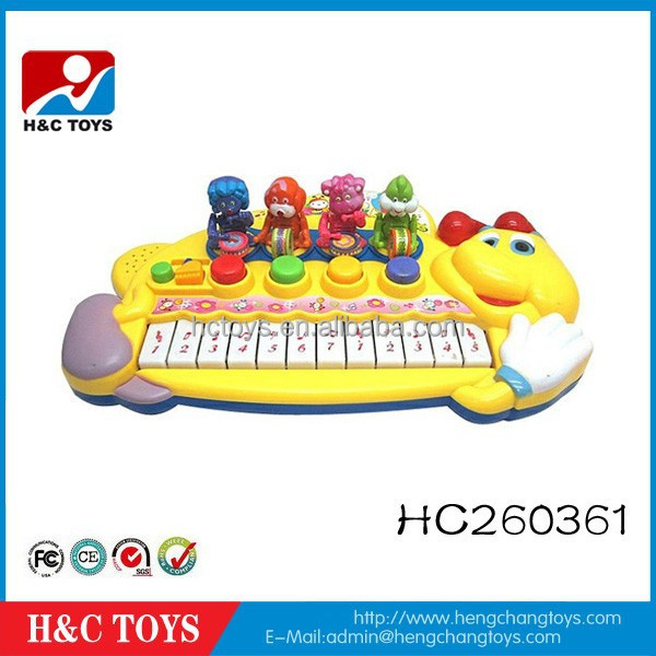 Cartoon frog electric baby musical piano for sale HC260361