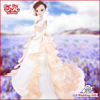 Fashion wedding doll toy wedding gift