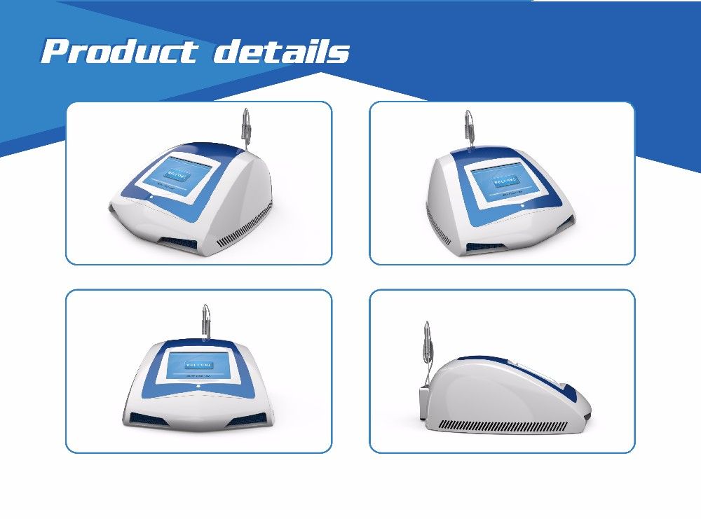 Immediate result 3 years warranty diode laser 980 nm portable spider vein removal machine