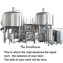 3hl Whole set beer producing factory equipment high quality brewing system fermenting machine
