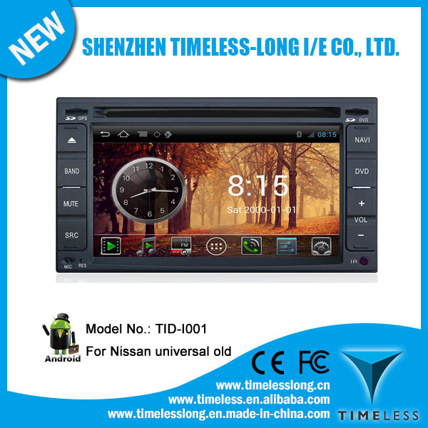Android system 2 Din Car DVD FOR NISSAN TIIDA 2005-2009 with GPS Ipod DVR digital TV box BT Radio 3G/Wifi(TID-I001)