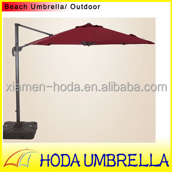 3 m aluminum compound anti uv promotional beach umbrella leisure places umbrella romantic outdoor umbrella