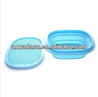 Newest Silicone Collapsible Lunch Box