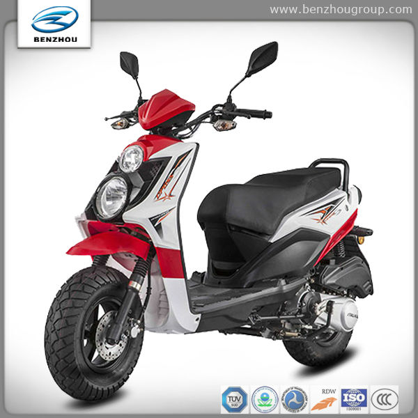 Benzhou 2013 new model 125cc scooter powerful and popular sporty design