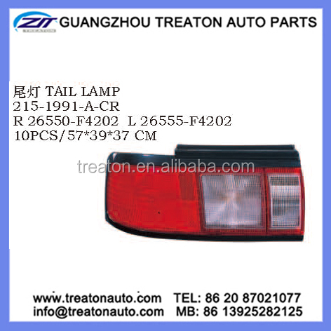 TAIL LAMP 26550-F4202 26555-F4202 FOR NISSAN SUNNY B13 MEXICO