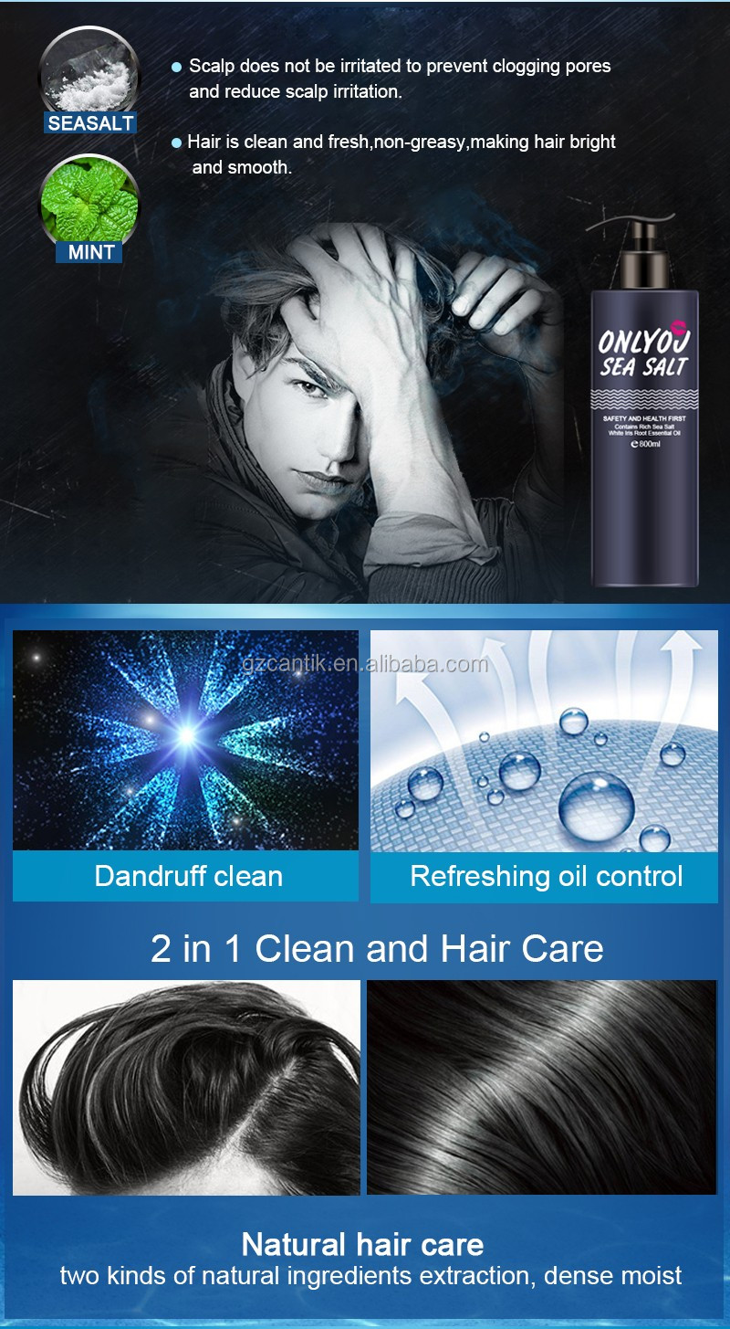 salon hair men shampoo