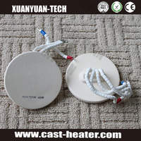 Embedded ceramic heating plate