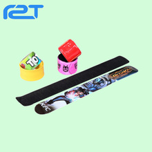 Hot sale PVC/ silicone ruler slap bracelet for kid gift