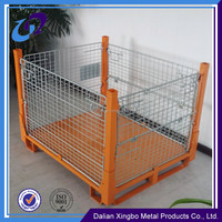 Wholesale Folding Wire Mesh Pallet Cage Factory