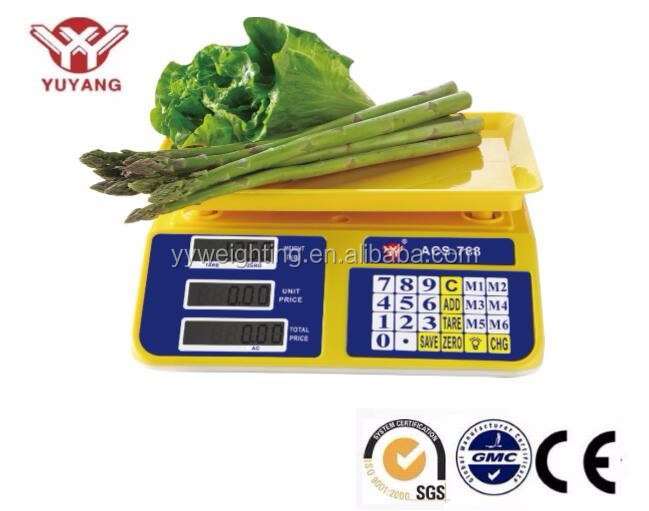 Electronic digital scale, ACS 30, 30kg to 40kg hot weight scale digital