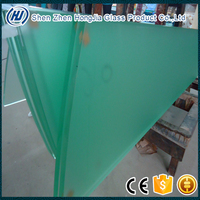 19mm 22mm 25mm 12mm thk clear tempered glass