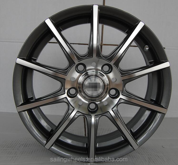 16x6.0 jj aftermarket aluminum alloy wheels rims with 5x114.3 for sale