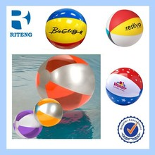 newest custom sports supplies PVC inflatable giant beach ball
