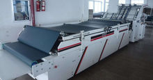 low failure high speed semi-automatic flute laminating machine for corrugated cardboard