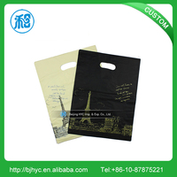 2016 fashions biodegradable plastic packaging carry bag design with low price
