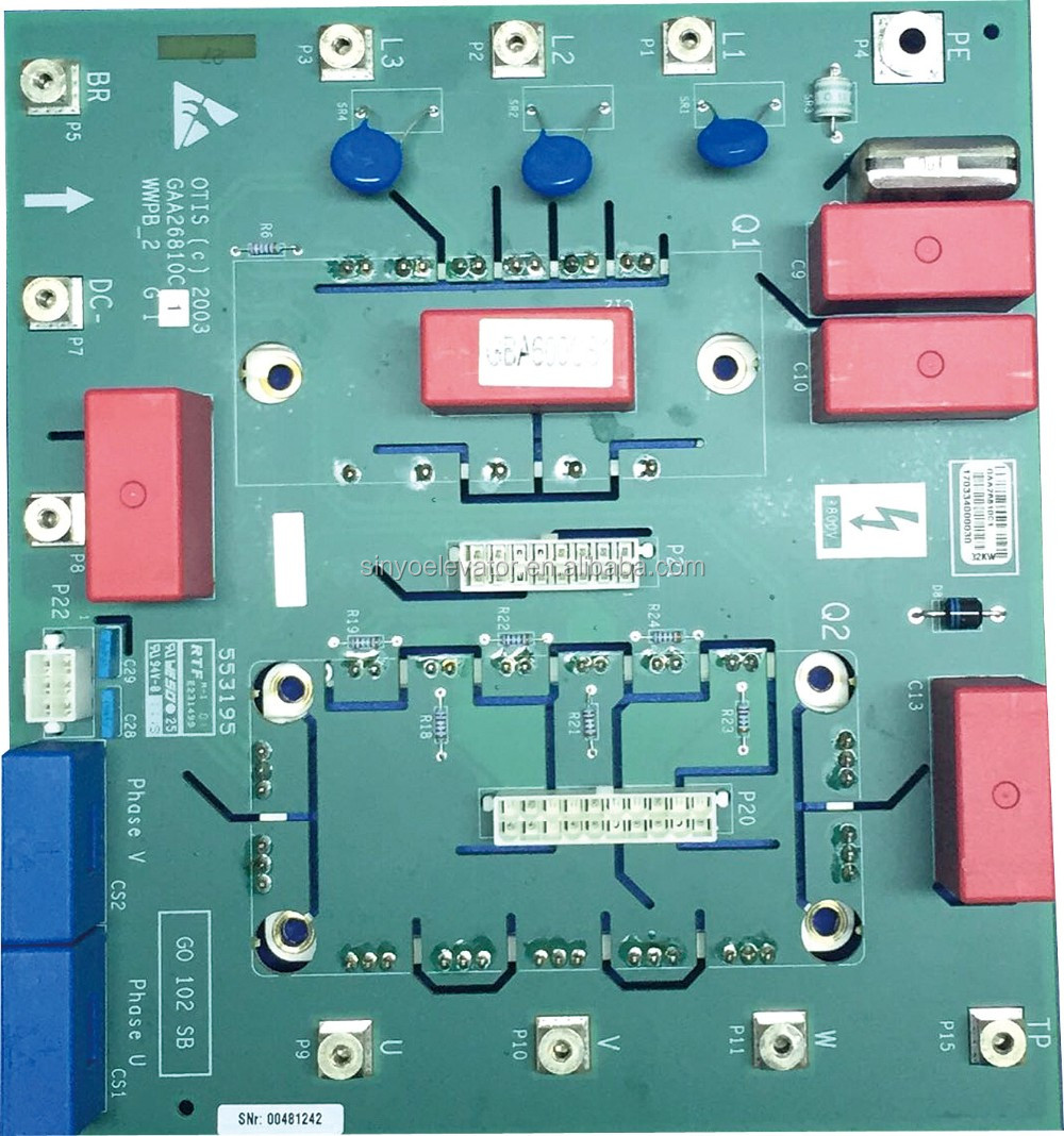 OVF-20CR Inverter Drive PC Board For Elevator GAA26800KN1