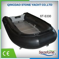Customized Semi Rigid 3.3m Inflatable Sport Fishing Boat