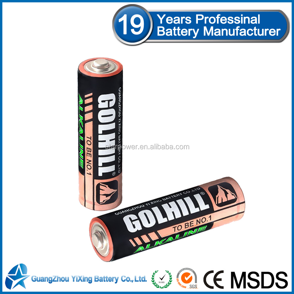 Golhill Am3 LR6 battery brands