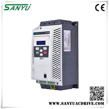 Sanyu 2017 dc/ac inverters triple 18kw Soft Starter for motor with CE