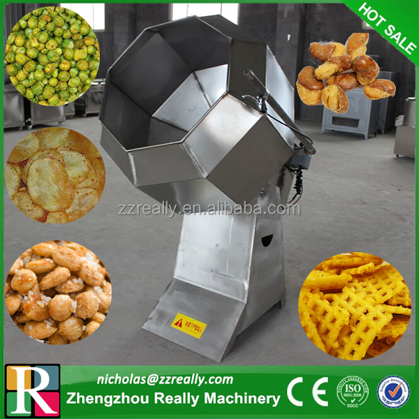 Best selling in USA snacks/potato chips/peanut/nut flavor mixing machine