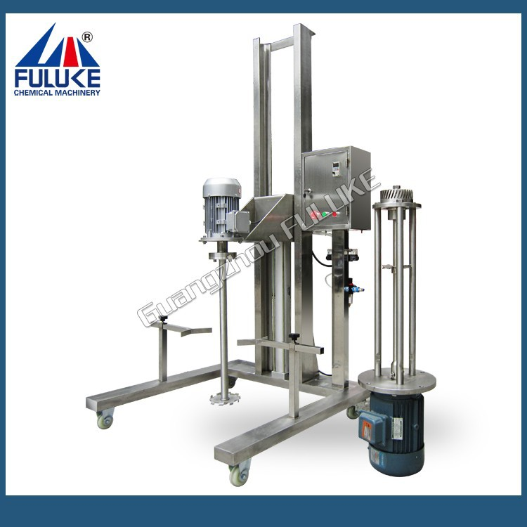 FLK paddle stirrer for viscosity liquid and powder solid product