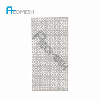 Made in Guangzhou Professional Factory Rectangular punching board Decorative Metal Perforated Mesh