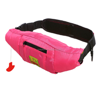 Hot models 275N CE/CCS approved transparent pvc waist bag life jacket