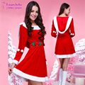 Sexy Adult Women Santa Claus Cosplay Costume