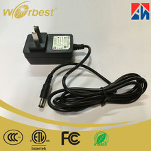 Power supply 12V 1A AC DC adapter 12 volt 1Amp power adapter CCC ETL FCC