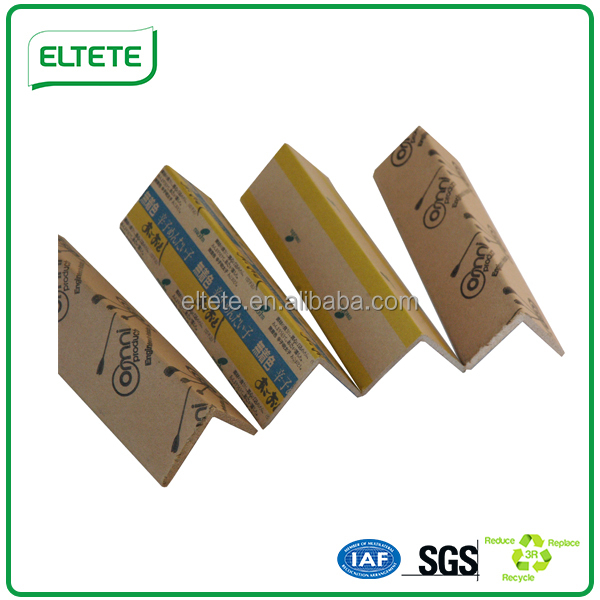 Paper edgeboard as pallet edge protect in packaging industry