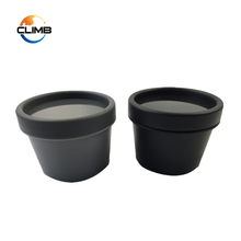 Hot selling PP Empty black Cosmetic for Facial Mask Cream Container for hair
