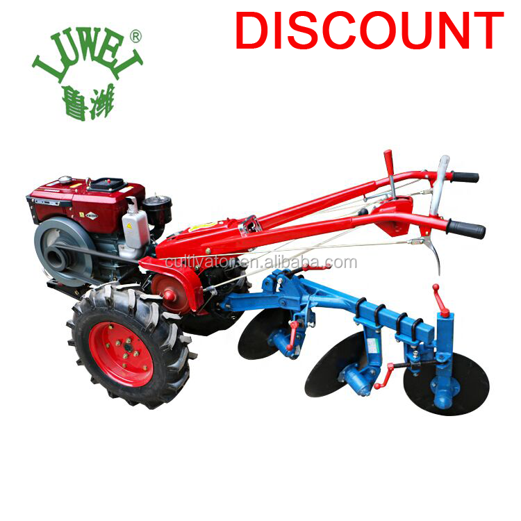 LUKE 2WD 8HP-22HP farm used hand held mini two wheel power tiller rotary hoe used japanese walking tractor price in bangladesh