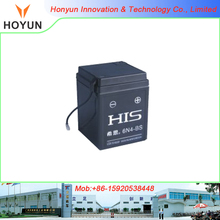 hot sale suit for JH70 CD70 motorcycle 6N4-BS Wet-Charged free maintenance motorcycle Battery