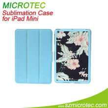 pu leather case for mini ipad