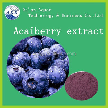 frozen acai puree / acai berry juice/acai powder 4:1