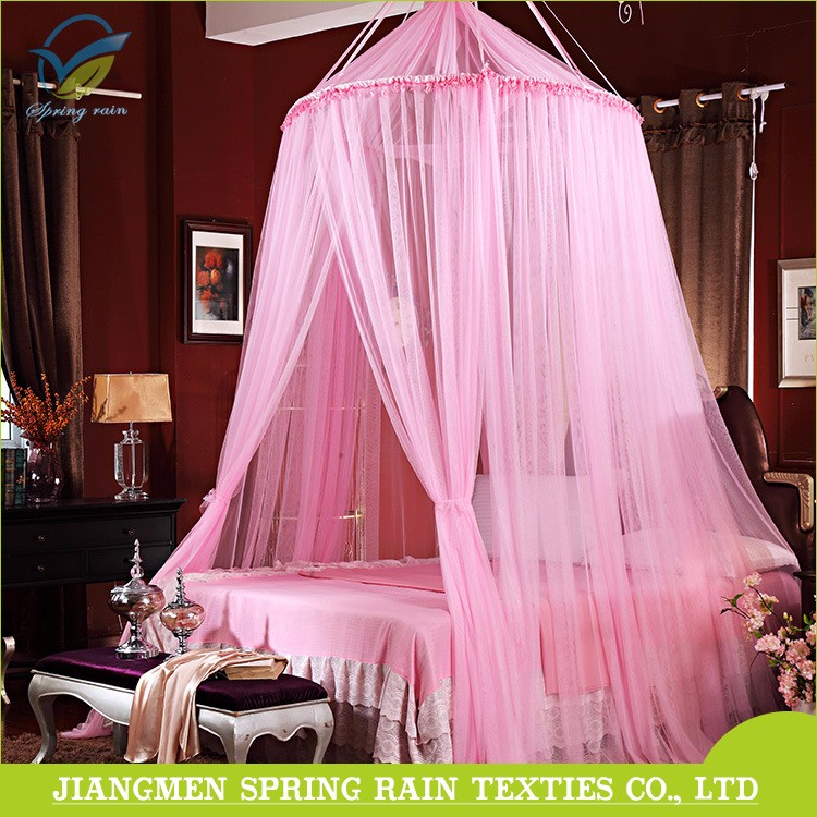100% polyester material and adults age group mosquito netting For Canopy Beds