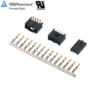 2.54mm Pitch female or male Wire To Board bnc connector