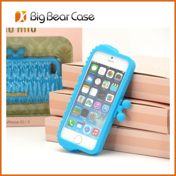 2014 hot selling 3d silicon animal case silicone phone case for iphone/samsung/others