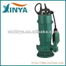 XINYA 1.5hp electric single-phase mine sewage drainage irrigation water pump (QDX25-9-1.1)