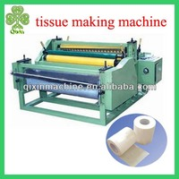 Supply automatic tissue paper making machine for best price and quality