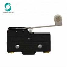 CE approval IP67 PI40 <strong>Z</strong>-15GW2-B spdt t85 125v 250v ac hinge roller lever type 15 amp micro roller switch microswitch