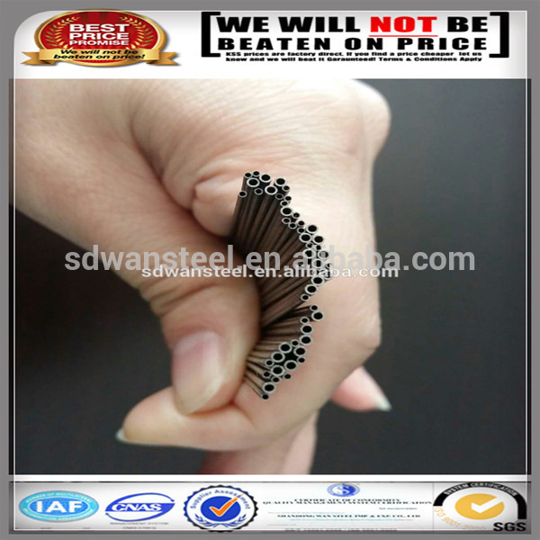 0.5mm thickness Cheap price cold drawn black round steel tube