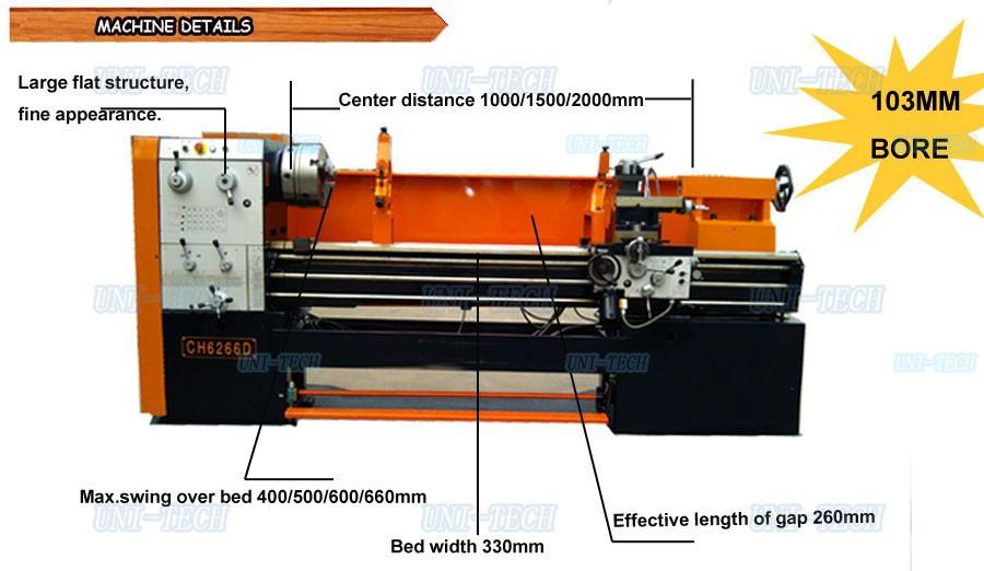 ch6250d chine fournisseur pas cher big bore horizontal. Black Bedroom Furniture Sets. Home Design Ideas