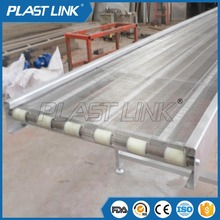 Factory customized stainles steel wire mesh chain link conveyor belt for food
