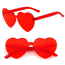 ADE WU STY2018U 2018 new trending products heart shaped one piece sunglasses wholesale