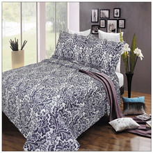 king size bed sheet patchwork microfiber quilt wholesale