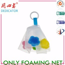 sponge bath lather sponges Cosmetic Lather Bubble Facial net for cleaning